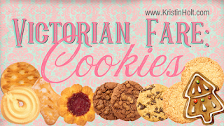 """""""Victorian Fare: Cookies"""" by USA Today Bestselling Author Kristin Holt."""