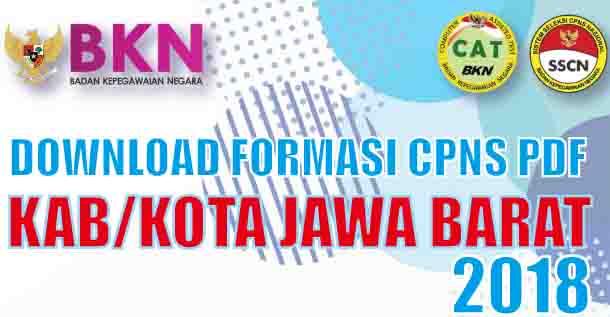 download formasi cpns kab kota jawa barat 2018 pdf