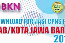 Download Formasi CPNS Semua Kabupaten Kota Provinsi Jawa Barat 2018 PDF