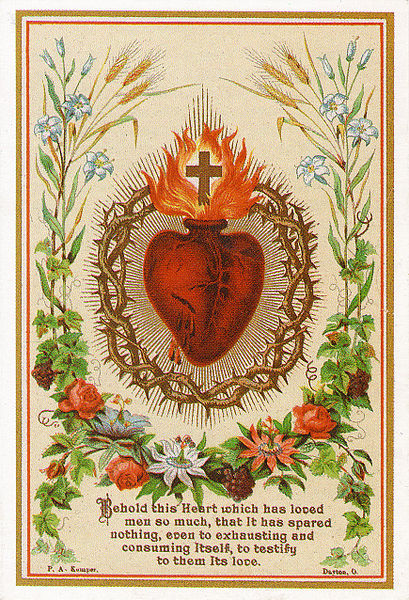 Herz Jesu Symbol