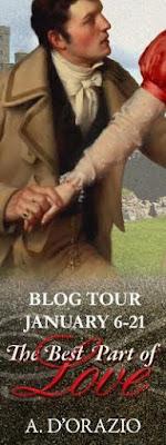 Blog Tour: The Best Part of Love by A D'Orazio
