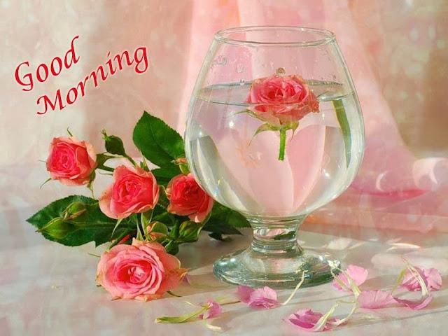 Good Morning withing water