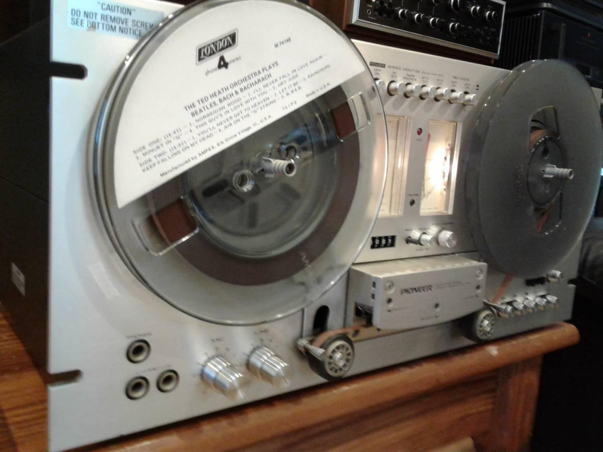 Recycled Stereo Plus: PIONEER RT-707 REEL TO REEL DECK - Wow!