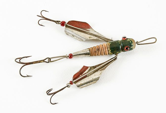 I want to fish most expensive lures for Collectible fishing lures