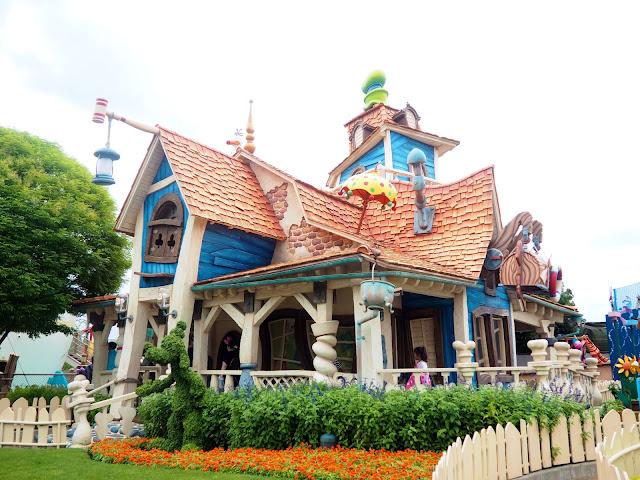 Goofy's House, Toon Town, Tokyo Disneyland, Japan
