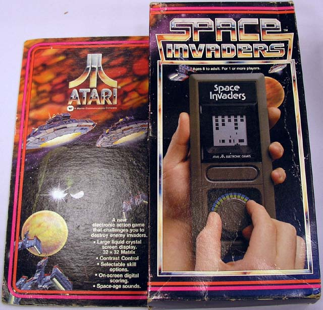 Atari Handheld Space Invaders