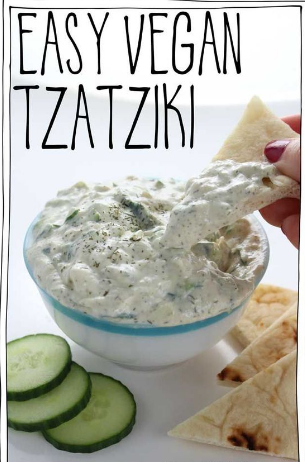 Easy Vegan Tzatziki