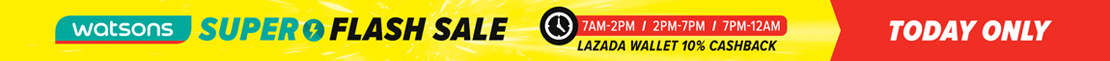 Watson Lazada Flash Sale