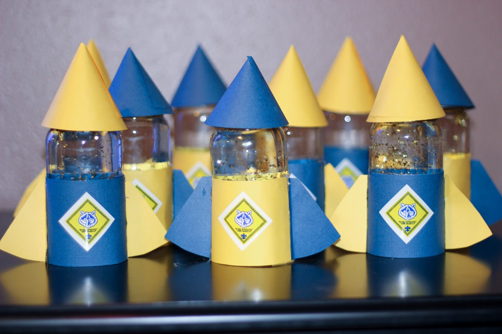 Cub Scout Blue And Gold Centerpiece Ideas Best House Interior Today