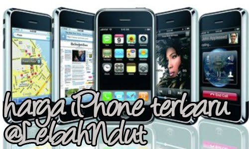Update Daftar Harga iPhone Baru Bekas Desember 2012 Terlengkap