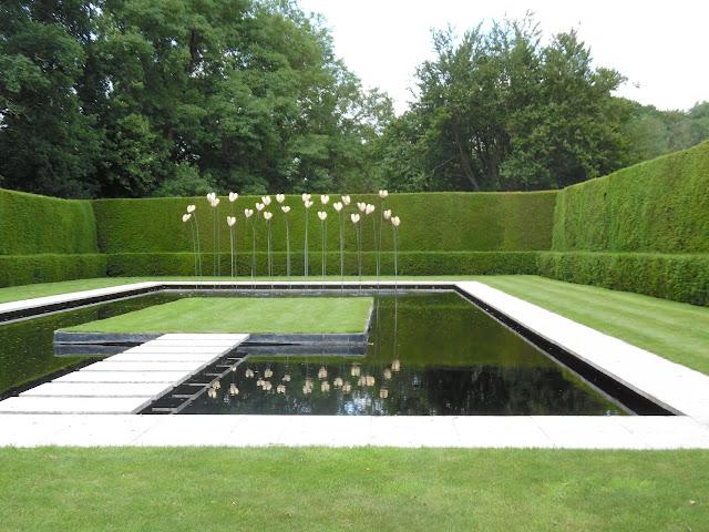 ogród angielski, nowoczesny ogród