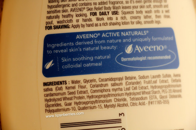 Aveeno skin relief body lotion review