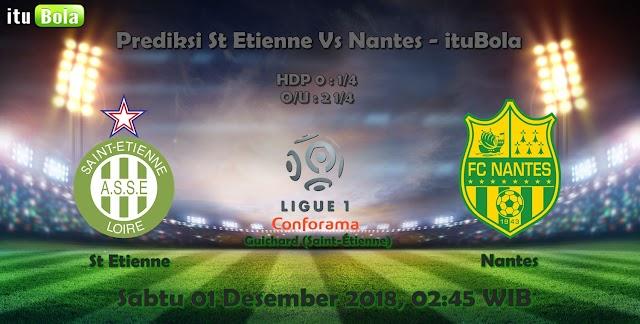 Prediksi St Etienne Vs Nantes - ituBola
