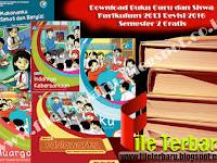 Download Buku Guru dan Siswa Kurikulum 2013 Revisi 2016 Semester 2 Gratis