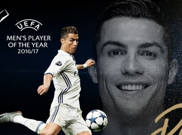 ronaldo uefa best player of the year 2016/2017
