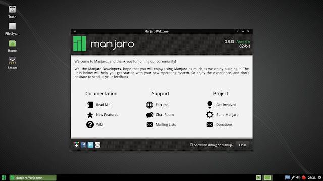 توزيعة-مانجارو-لينكس-Manjaro-Linux