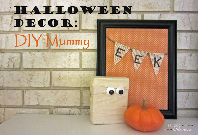 halloween decor diy mummy