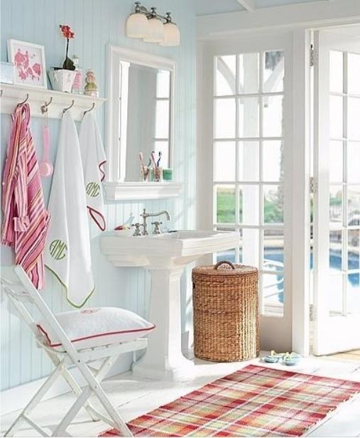 decoração estilo cottage romantica