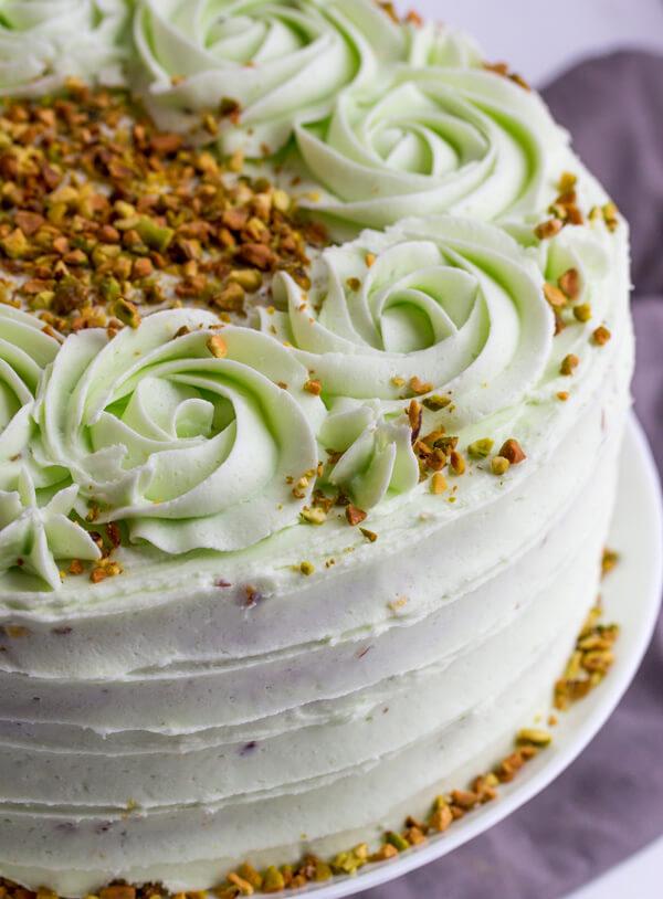Vanílla Bean Pístachío Cake