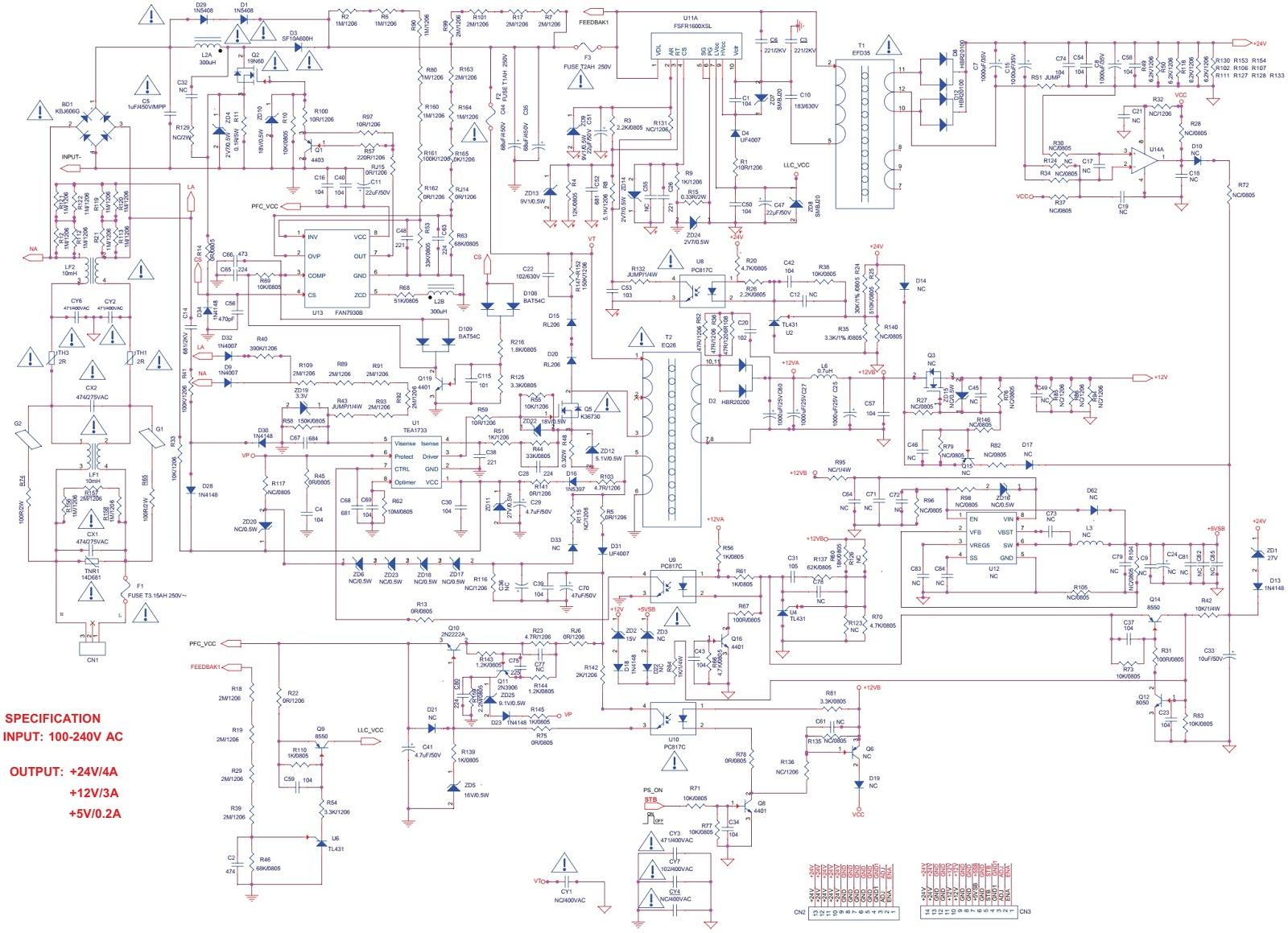 lg remote diagram