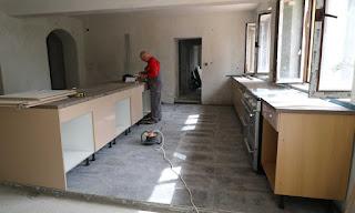Kitchen progress