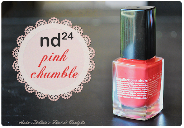 collaborazione nd24 pink chumble
