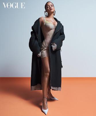 Rihanna Vogue Austraila April  2019