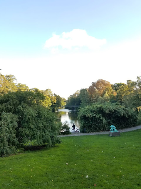 Early Morning Run - Copenhagen - Park