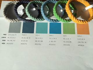 herringbone weave rope bracelets affinity colors