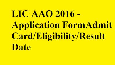 LIC AAO 2016 Procedure