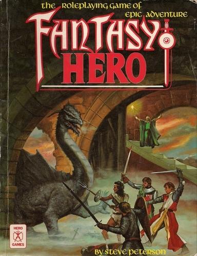 Bat In The Attic From The Attic Fantasy Hero 1st Edition