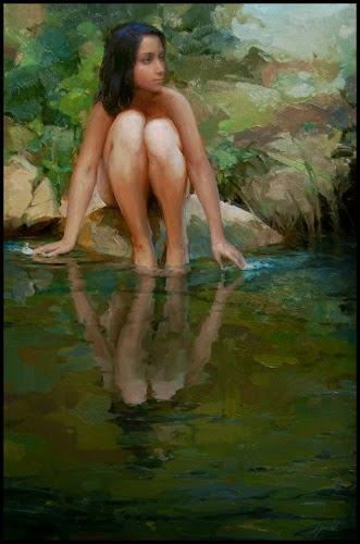 Reflexões - Ignat Ignatov e suas mais belas pinturas  ~ Pintora russa