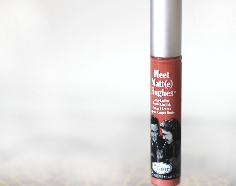 The Balm Meet Matt(e) Hughes Liquid Lipstick in Committed review and swatch