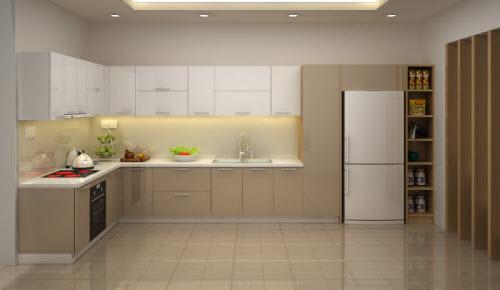 Những lưu ý khi sử dụng tủ bếp Acrylic