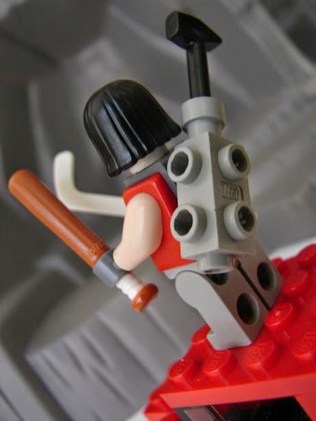 Toyriffic Tmnt Casey Jones Another Custom Lego Minifigure
