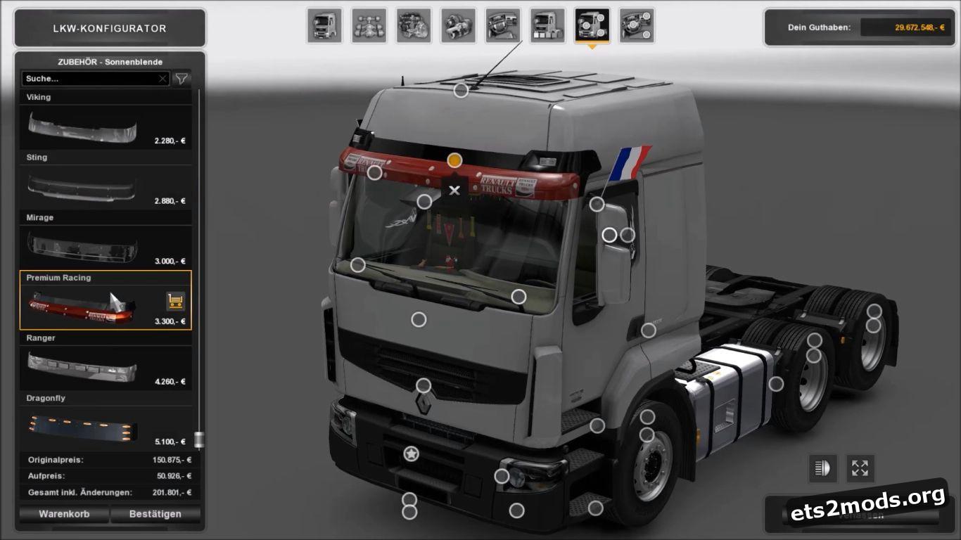 Reworked Renault Premium V 3.2