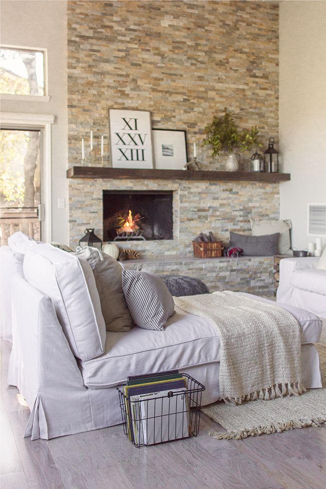 El blog de demarques 10 calidos salones con chimenea - Salones con chimeneas ...
