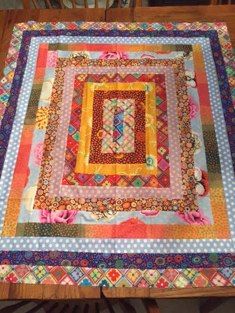 Jaynes Quilting Room Sharons Going Around The World