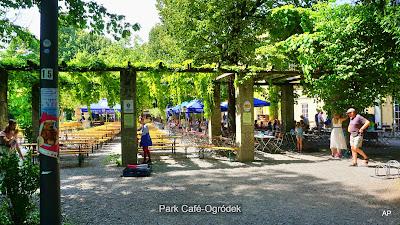 Park Café ogródek