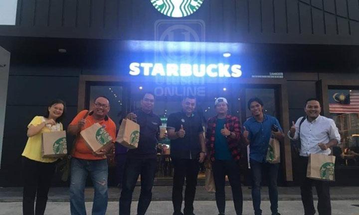 Starbucks Pertama dibuka di Kelantan