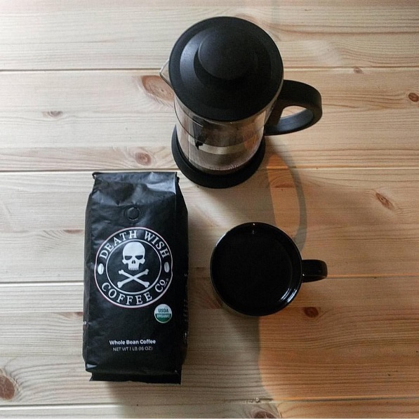 Cafés mais fortes do mundo: Death Wish Coffee