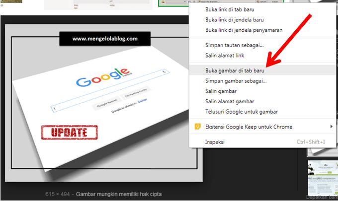 Solusi hilangnya view images button 3