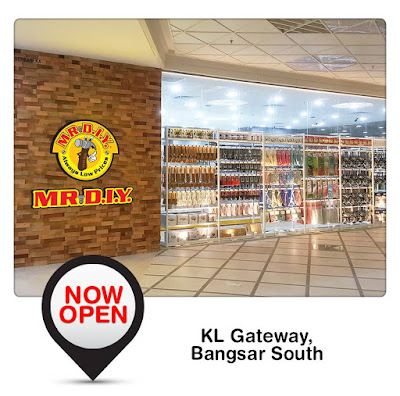 MR.D.I.Y Outlet KL Gateway Bangsar South