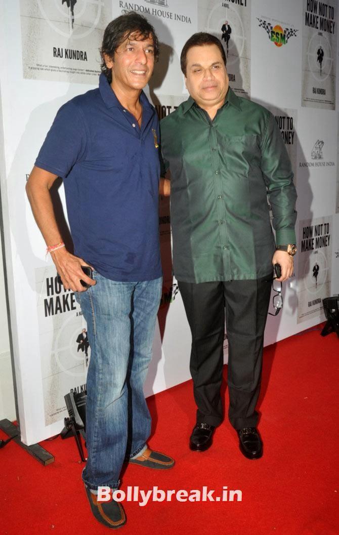 Chunkey Pandey and Kumar Taurani, Shilpa Shetty - How not to make Money Bash
