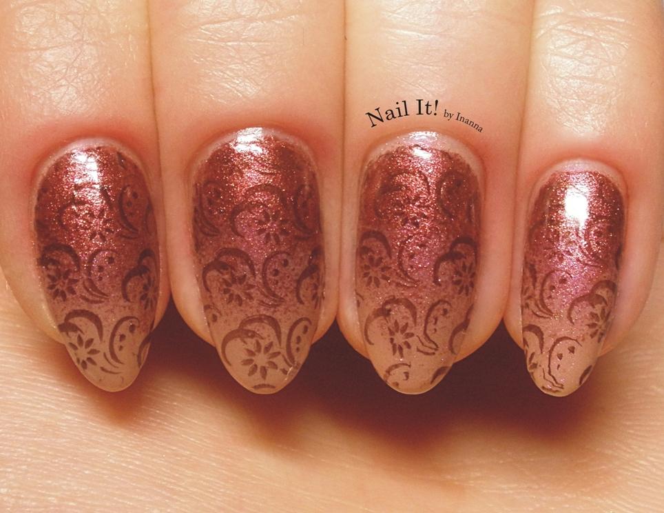 Różowawe paznokcie...