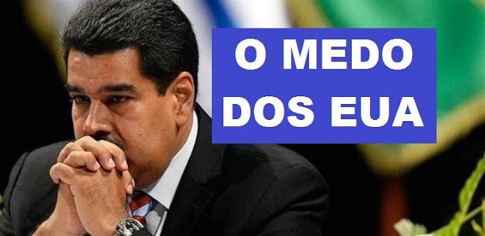 Maduro tremendo de medo, agora dá 30 dias para saída de diplomatas americanos