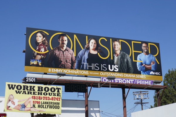 Consider This Is Us season 2 Emmy nominee billboard