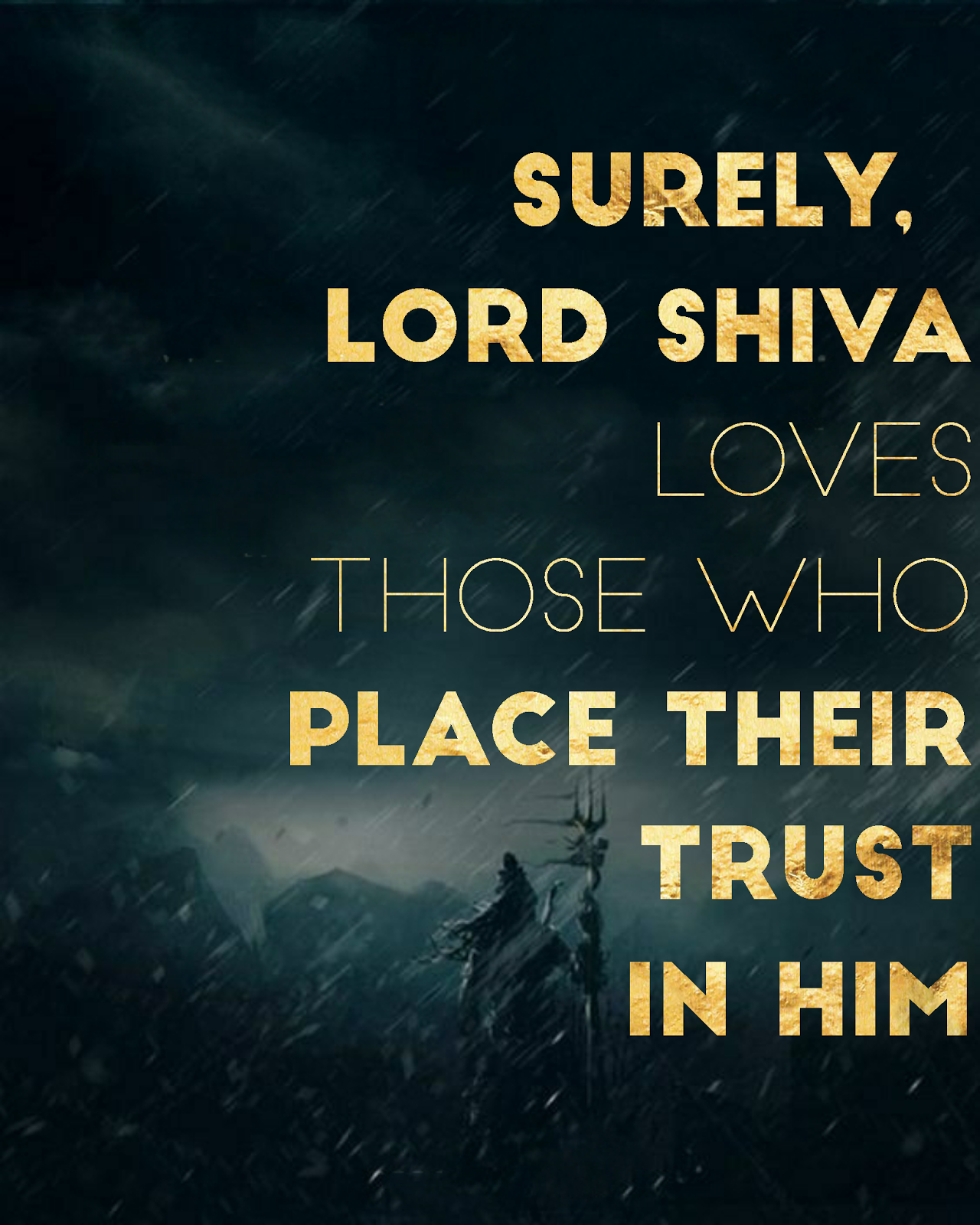 Lord Shiva : Lord Shiva Quotes