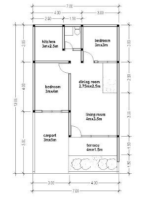 House Plans 7x12 House Affair