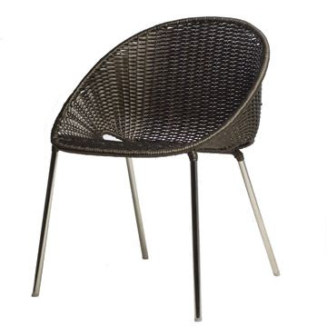 Dimple stacking chair by Kenneth Cobonpue